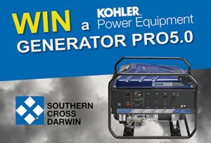 Southern Cross Darwin Kohler Generator Promotion – WINNER
